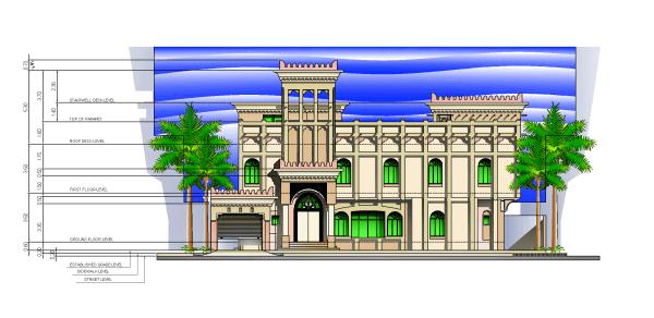 صور مبنى ذو طابع تقليدي