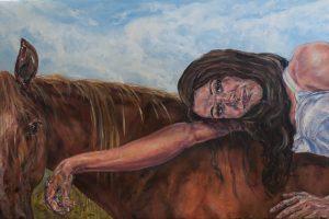 النساء والأحصنة!