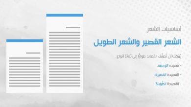 Photo of أساسيات الشعر: الشعر القصير والشعر الطويل