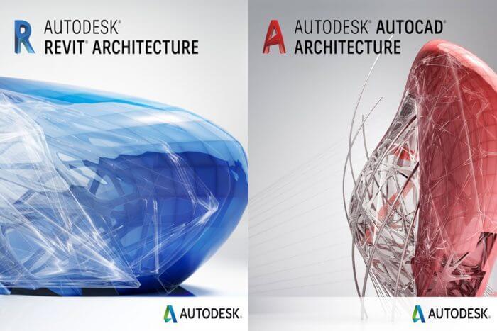 ما الفرق بين الأتوكاد المعماري والريفيت المعماري؟