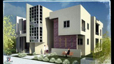 مبنى سكني في سلطنة عمان