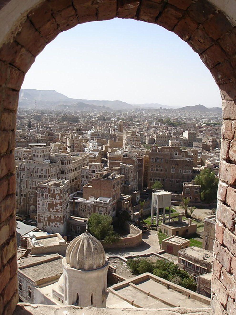العمارة الطينية في اليمن