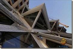 السقف المسنَّن أعلى البناء