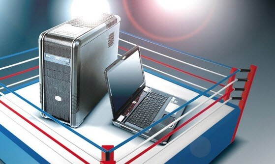 أيما أفضل جهاز كمبيوتر مكتبي، أم جهاز كمبيوتر محمول؟