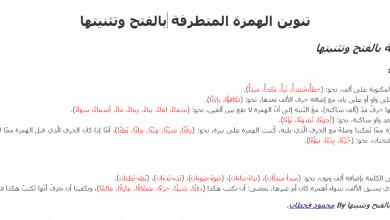 Photo of إملاء: تنوين الهمزة المتطرفة بالفتح وتثنيتها