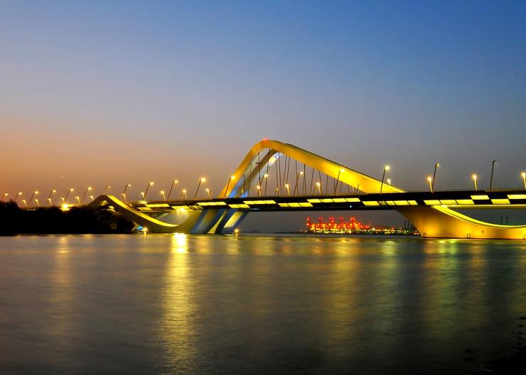 جسر الشيخ زايد، أبو ظبي (2010)