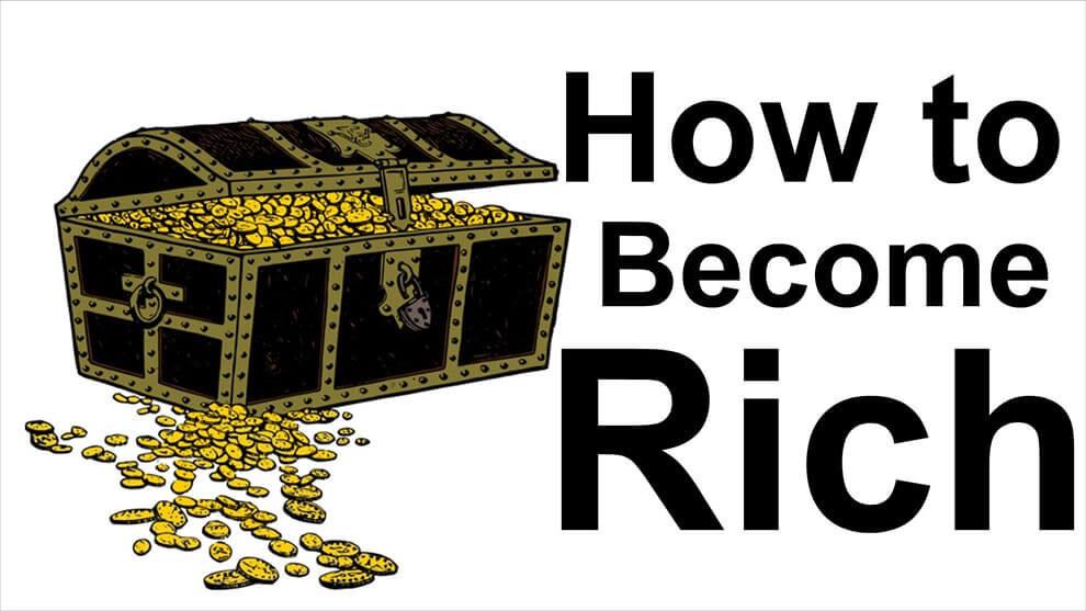 أسرار الثراء: كيف تصبح غنيا في 3 خطوات