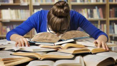 المذاكرة قبل ليلة الامتحان