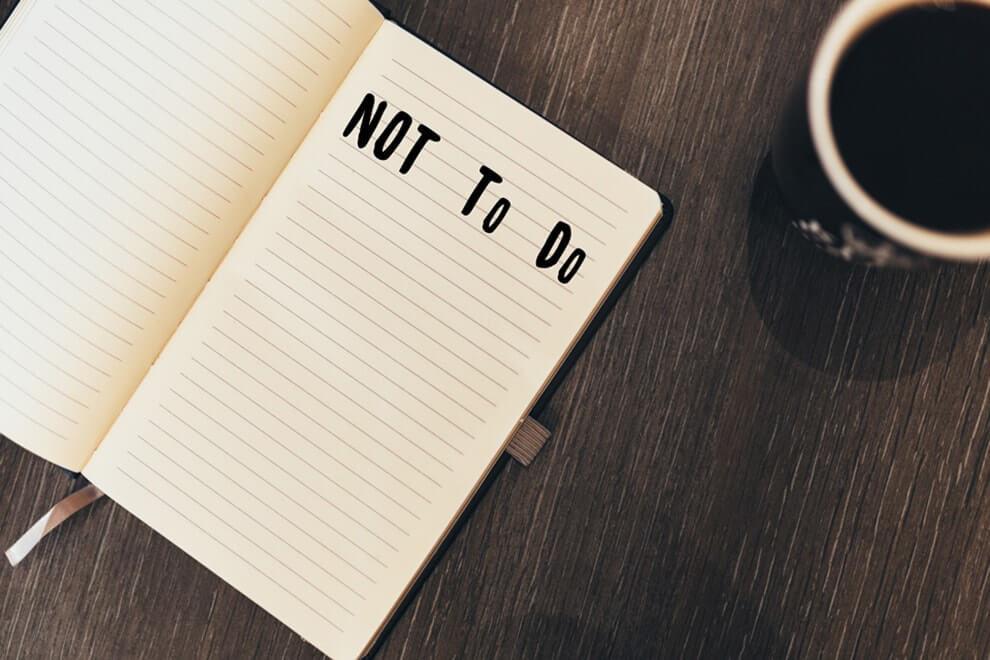 قائمة المهام المطلوب تأديتها أم غير المطلوب تأديتها-الجزء الثالث والأخير