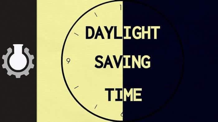 التوقيت الصيفي Daylight Saving Time