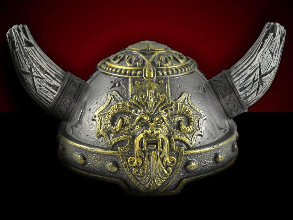 خوذة الفايكنج Vikings Helmet