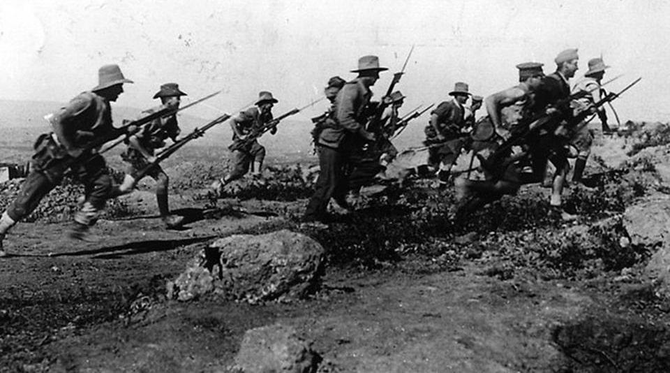 A Bayonet Charge