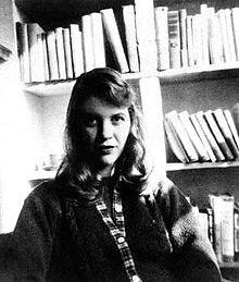 سيلفيا بلاث Sylvia Plath