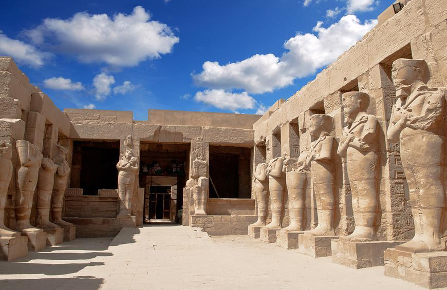 25 Karnak Temple Complex shutterstock min - العمارة المصرية القديمة